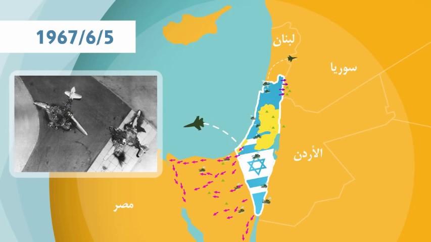 فلسطين ما هي حرب 1967 ؟