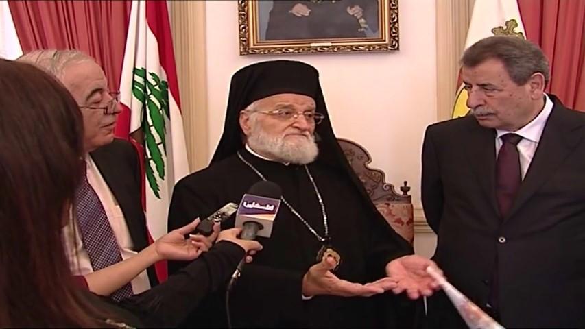 مقتطفات من زيارة وفد اللجنة الرئاسية لشؤون الكنائس في فلسطين الى لبنان