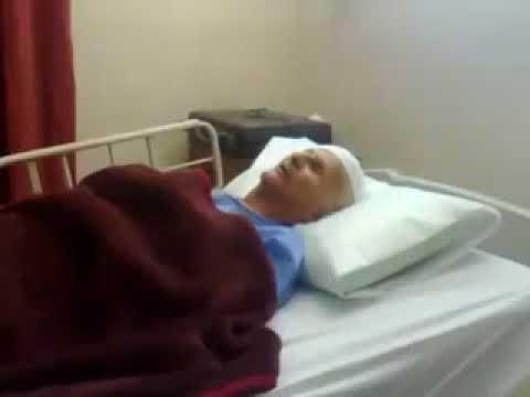 أبو عرب ينشد على فراش المرض لأجل فلسطين